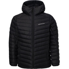 Peak Performance M's Frost Down Hooded Jacket Black